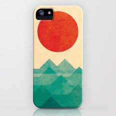 The ocean, the sea, the wave iPhone (5, 5s) Slim Case