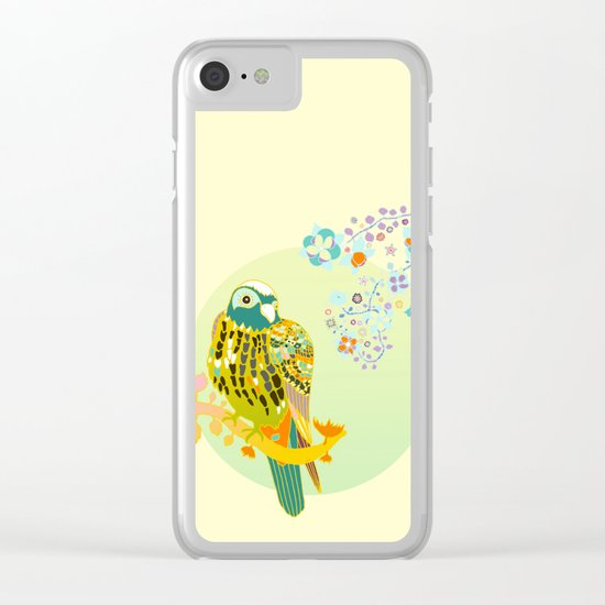 Scent of Flora Clear iPhone Case