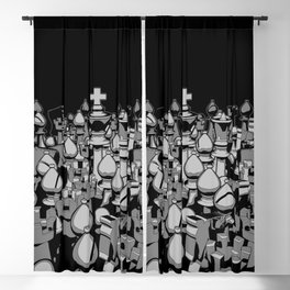 The Chess Crowd Blackout Curtain