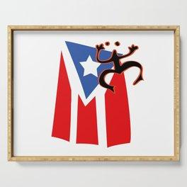 Mi bandera, Puerto Rico Serving Tray
