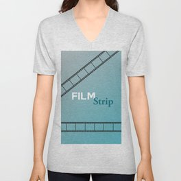 Film Strip Unisex V-Neck