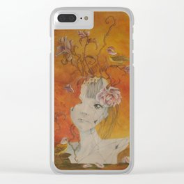 Petal Pink Clear iPhone Case