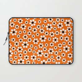 Dizzy Daisies - Orange Laptop Sleeve