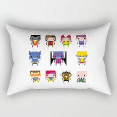 Pixel X-Men Rectangular Pillow