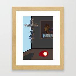 Easter instalation Framed Art Print