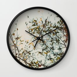 Gold & Warm Wall Clock