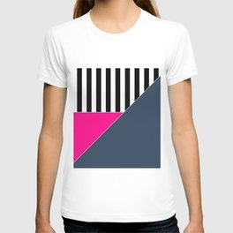Asymmetrical patchwork 1 T-shirt