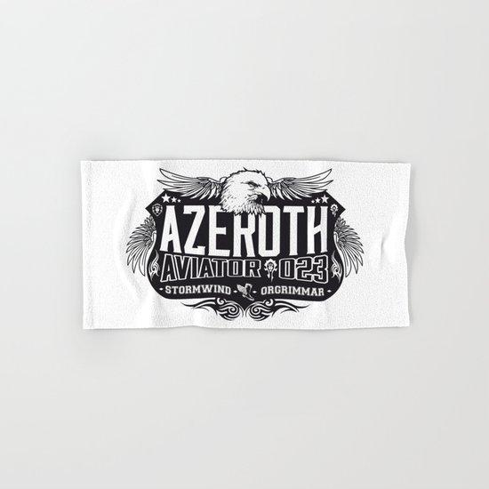 Azerothian Aviators Hand & Bath Towel