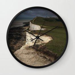 White cliffs of Beachy Head Wall Clock