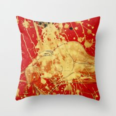 Casting Out Nines Throw Pillow