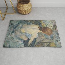 Henri de Toulouse-Lautrec Rousse (La Toilette) Rug