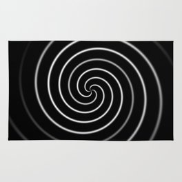 Licorice Swirl Rug