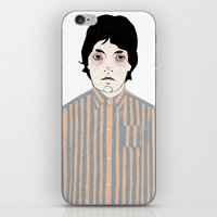 stripes iPhone & iPod Skins featuring Stripes by Le Butthead