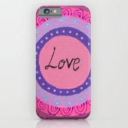 Share the Love Mandala iPhone Case