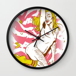 Marilyn Dirt Wall Clock