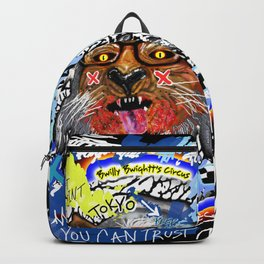 Gee The Party Wolf Remixed Backpack