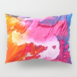BRIGHT ABSTRACT PAINTING Pillow Sham