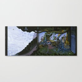 Existing Only In The Light Canvas Print