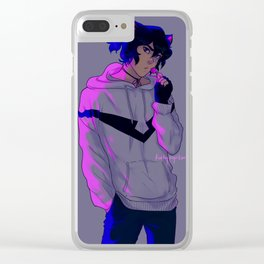 kitty keef Clear iPhone Case