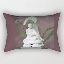 Sitting Buddah Rectangular Pillow