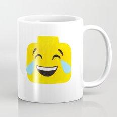 Tears of Joy - Emoji Minifigure Painting Mug