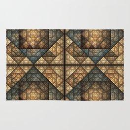 Church Window Pattern Rug