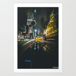 Manhattan Nights Art Print