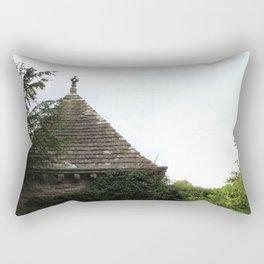 Italian Garden at Glamis Castle Rectangular Pillow