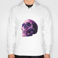 skull Hoodies featuring Skull by Roland Banrevi