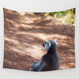 Lemur Catta III Wall Tapestry