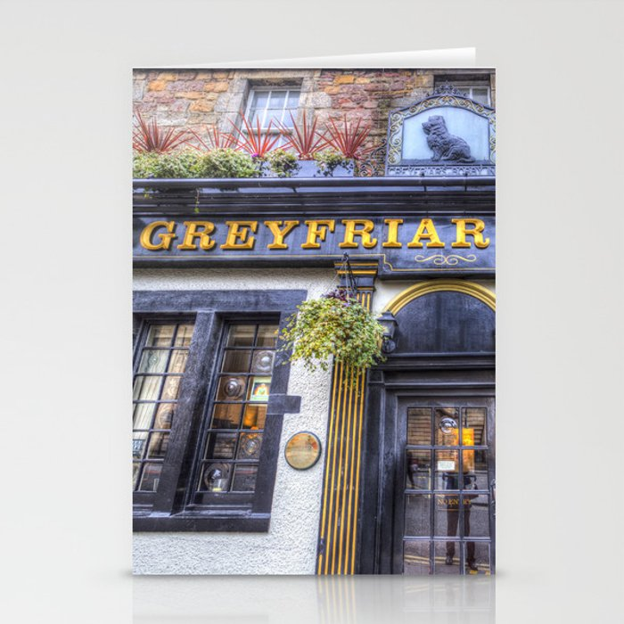 Greyfriars Bobby Pub edinburgh Stationery Cards