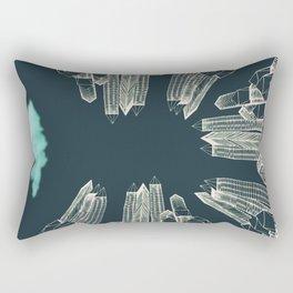 Dark Area Rectangular Pillow