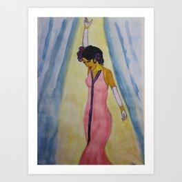 Curtain Call Art Print