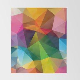 Geometric view Throw Blanket