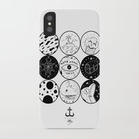 circles iPhone & iPod Cases featuring Circles by LSjoberg