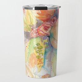 """""""Peach Blossom"""" Travel Mug"""
