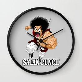 Mr. Satan Wall Clock