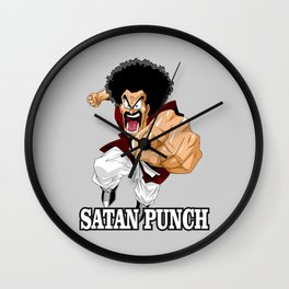 Mr. Satan Wall Clock