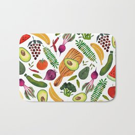 eat clean Bath Mat