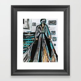 Wizard of Time Travel Framed Art Print