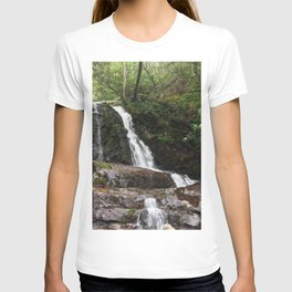 Tennessee Waterfall Smoky Mountains Color Photo T-shirt