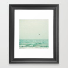Lone Bird Framed Art Print
