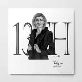 13th Doctor Metal Print