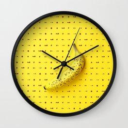 Bananagram Wall Clock