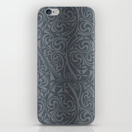 Celtic Warlord steel iPhone Skin