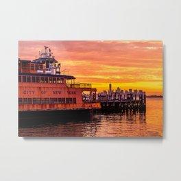 Ferry Boat John F. Kennedy Metal Print