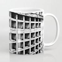 concrete Mugs featuring Concrete by Cobo