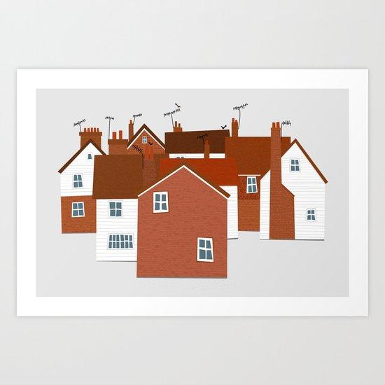 Tunbridge Wells Art Print
