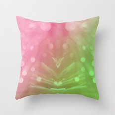 Laser Show Throw Pillow