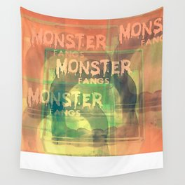 Monster Fangs Wall Tapestry